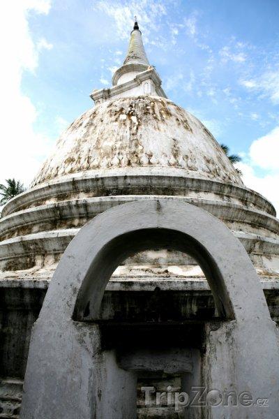 Fotka, Foto Bentota, buddhistická stúpa (Srí Lanka)