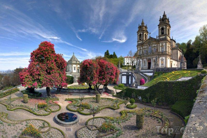 Fotka, Foto Braga, poutní místo Bom Jesus do Monte (Portugalsko)
