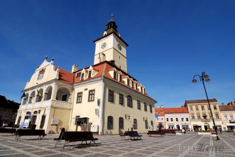 Fotka, Foto Brašov, náměstí Piaţa Sfatului (Rumunsko)