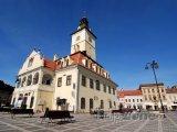 Brašov, náměstí Piaţa Sfatului