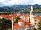 Budva, panorama města