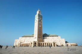Casablanca, mešita Hasana II. s minaretem