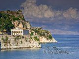 Chrám na ostrově Korfu
