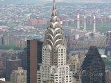 Chrysler Building na Manhattanu