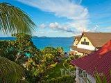 Domky na ostrově La Digue