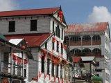 Domy v hlavním městě Paramaribo