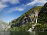 Geirangerfjord, vodopád Suitor
