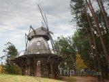 Historický mlýn ve venkovním muzeu