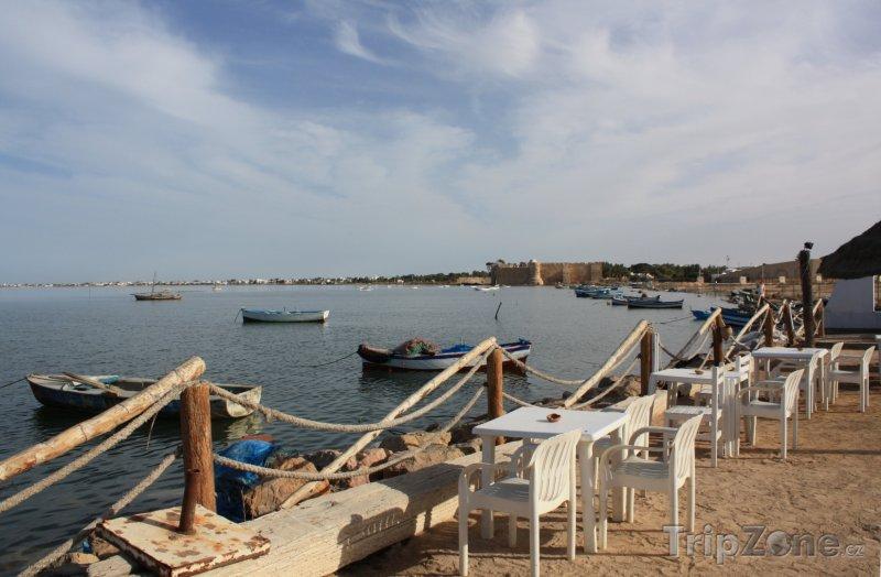 Fotka, Foto Houmt Souk, přístav (Tunisko)