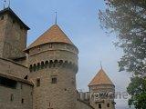 Hrad Chillon u obce Montreux