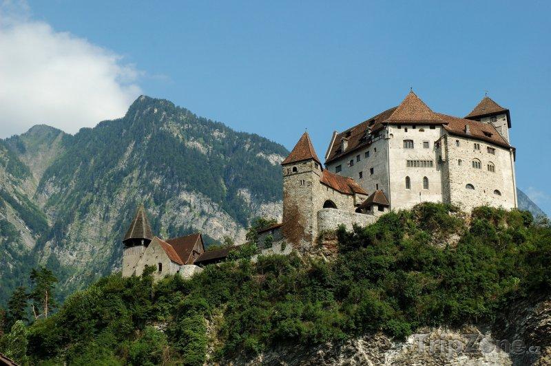 Fotka, Foto Hrad Vaduz (Lichtenštejnsko)
