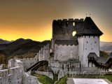 Hrad ve městě Celje