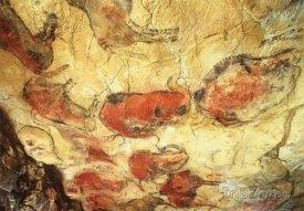 Jeskyně Altamira, malby na stěnách