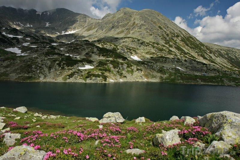 Fotka, Foto Jezero Bucurat v národním parku Retezat (Rumunsko)