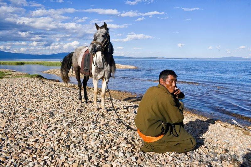 Fotka, Foto Jezero Khövsgöl (Mongolsko)