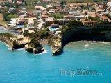 Korfu, pláž Canal d'amour v Sideri