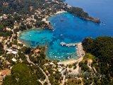 Korfu, záliv Palaiokastritsa