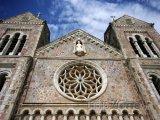Kostel ve městě Basseterre
