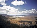 Kráter v území Ngorongoro