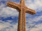 Kříž tisíciletí na vrchu Vodno