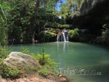 Laguna v národním parku Isalo