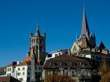 Lausanne, katedrála