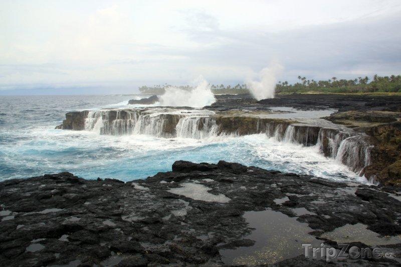 Fotka, Foto Lávové útesy (Samoa)