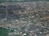 Letecký pohled na město Lagos
