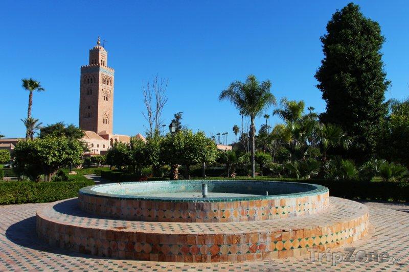 Fotka, Foto Mešita Koutoubia v Marrákeši (Maroko)