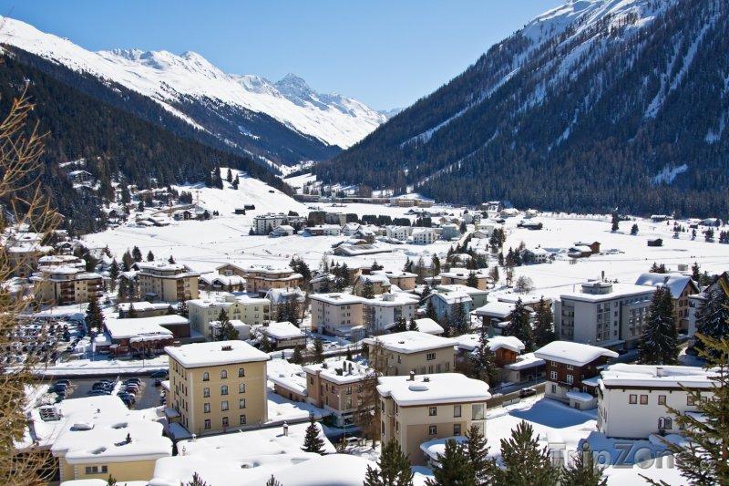 Fotka, Foto Město Davos (Švýcarsko)