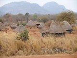 Mosambická vesnice