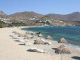 Mykonos, pláž Kalafati