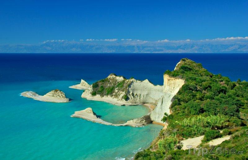 Mys Drastis poblíž Korfu