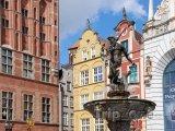 Neptunova fontána v Gdaňsku