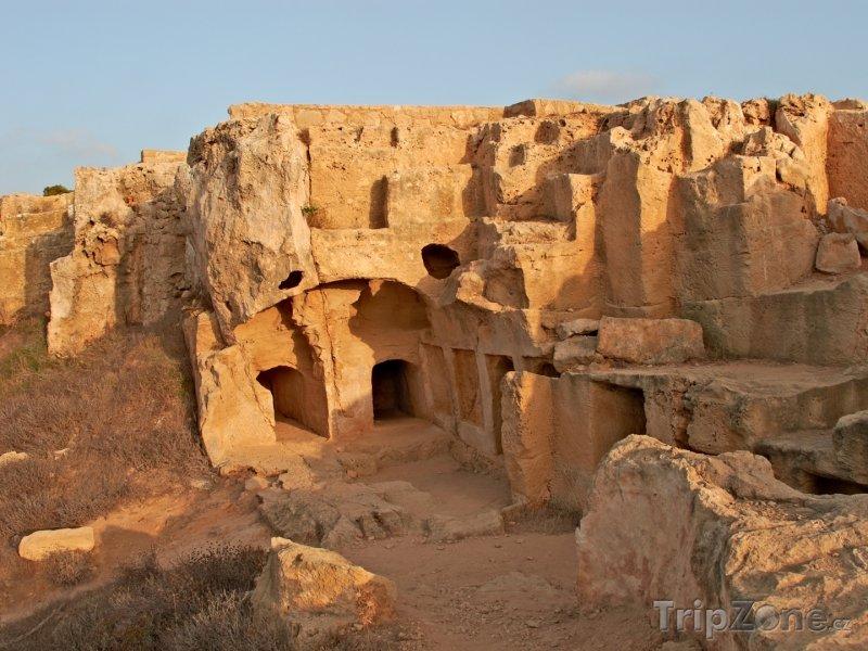 Fotka, Foto Pafos, Královské hrobky (Kypr)