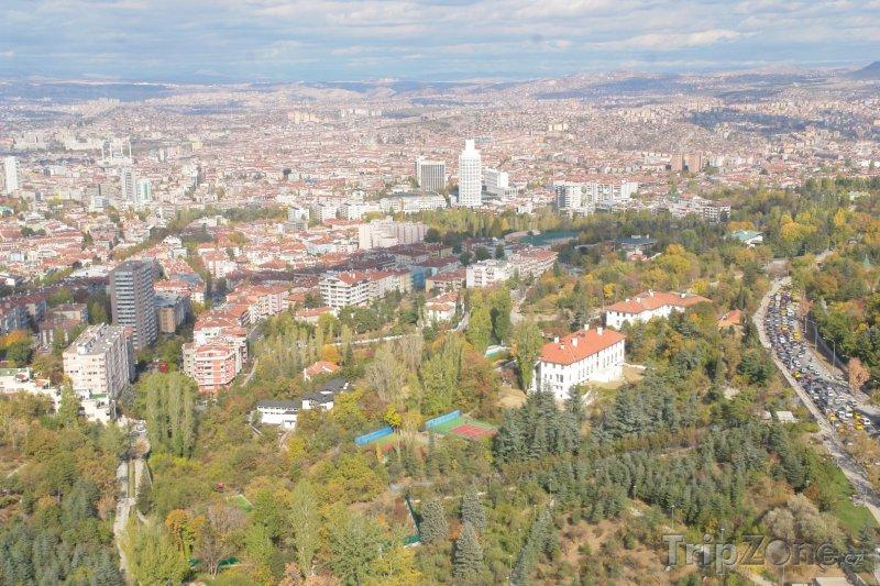 Fotka, Foto Panorama Ankary (Turecko)