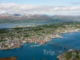 Panorama města Tromso