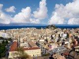 Panorama ostrova Korfu