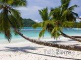 Pláž na ostrově Mahé