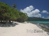 Pláž na ostrově Mota