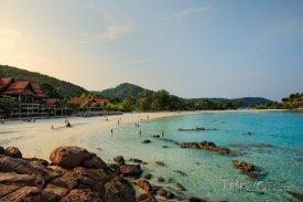 Pláž na ostrově Redang