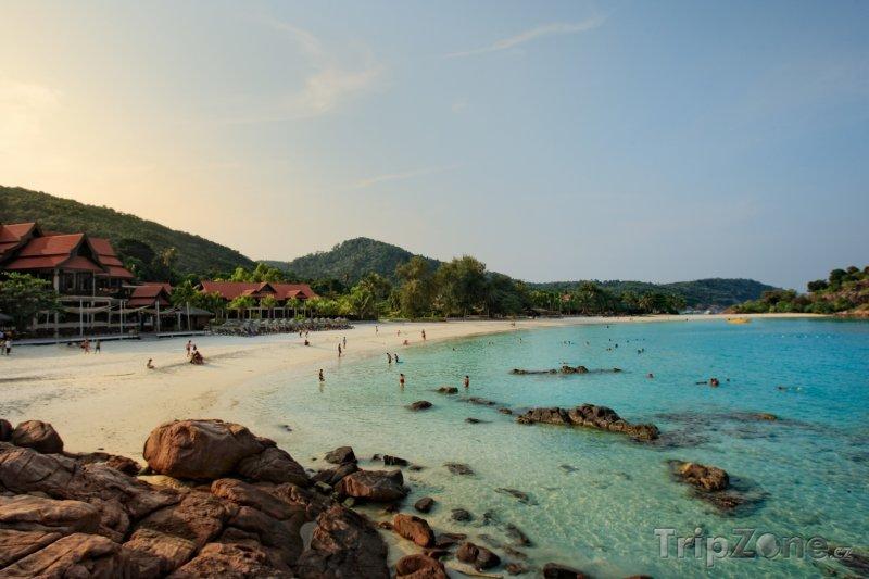 Fotka, Foto Pláž na ostrově Redang (Malajsie)