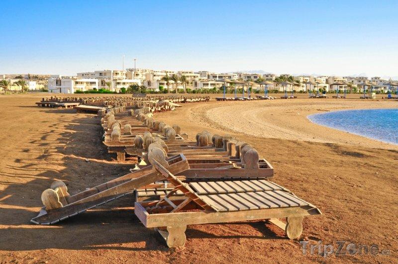 Fotka, Foto Pláž v Hammametu (Tunisko)