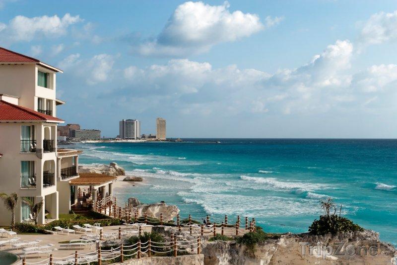 Fotka, Foto Pobřeží Cancúnu (Mexiko)