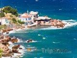 Pobřeží obce Pythagoreio na ostrově Samos