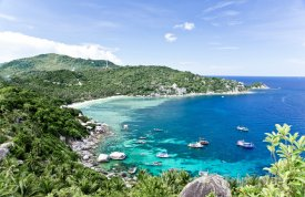 Pobřeží ostrova Koh Tao