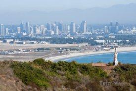 Pohled na město San Diego