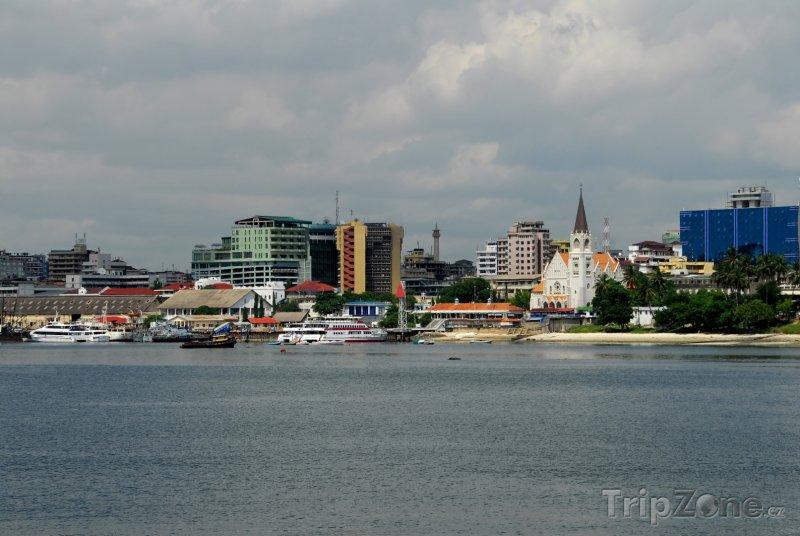 Fotka, Foto Přístav ve městě Dar es Salaam (Tanzanie)