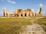 Sabratha, ruiny divadla