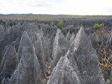 Skály v národním parku Tsingy de Bemaraha